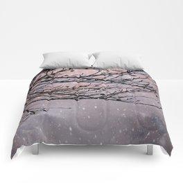 Dusky Winter Days Comforters