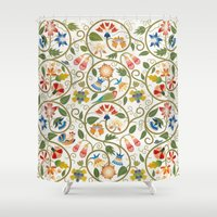 sia Shower Curtains featuring Spring by BellagioVista