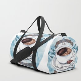 Coffee To The Rescue Duffle Bag