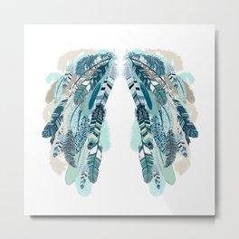 Angel's Wings Metal Print