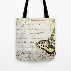 golden butterfly postale Tote Bag