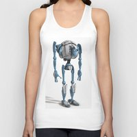 robot Tank Tops featuring Robot by Steve Thorpe