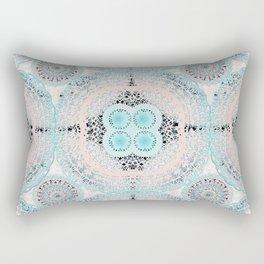 Boho Shell Mandalas Rectangular Pillow