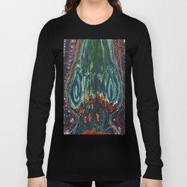 Pulse of Kelp (Sonic Sea Surge) Long Sleeve T-shirt