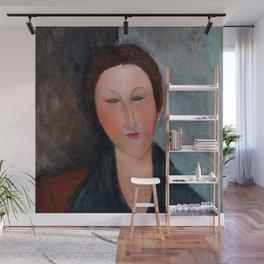 "Amedeo Modigliani ""Buste de jeune fille (Mademoiselle Marthe)"" Wall Mural"