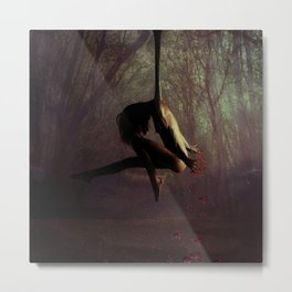 Hanging around Metal Print