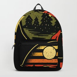 I Hate People Nature Freedom Camping Backpack