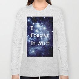 Blue Galaxy : I Forgive It All Long Sleeve T-shirt