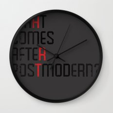 What Comes After Postmodern? Wall Clock