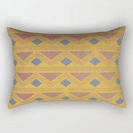 King of the Mountain Cometh Rectangular Pillow