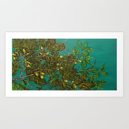 The Forest. The Mountain. Art Print