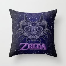 Zelda majora's mask  Throw Pillow