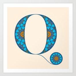 Q - Amarilis Art Print