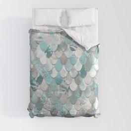 Mermaid Aqua and Grey Comforters