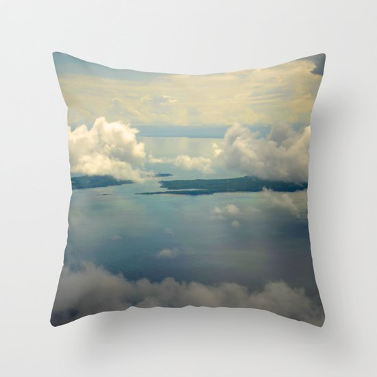 When I Had Wings III Throw Pillow