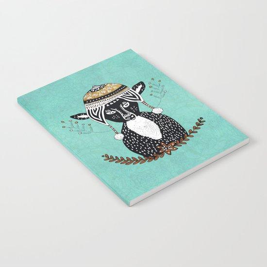 Hipster Deer Notebook