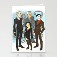 suits Stationery Cards featuring Suits by FindChaos