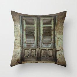 Italian Door III Throw Pillow