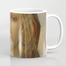 "Sandro Botticelli ""The Virgin and Child with Saint John and an Angel"" The Virgin Coffee Mug"
