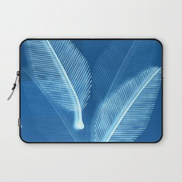 Blueprint Leaves Laptop Sleeve