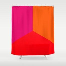 Thirds of Summer II Shower Curtain