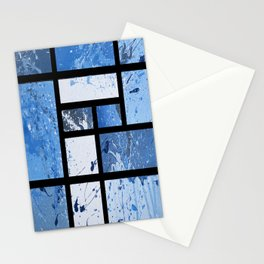 Movin with Pollock, Mondrian & Haring  Stationery Cards