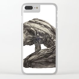 Sorrow Clear iPhone Case