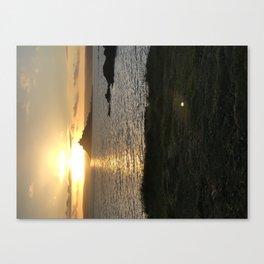 St Michaels Mount sunset Canvas Print