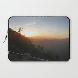Sunset on the mine Laptop Sleeve