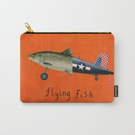 flying fish Carry-All Pouch