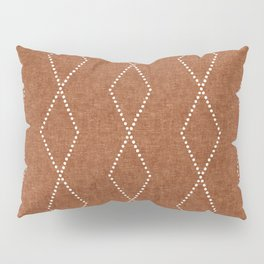 geometric diamonds - ginger Pillow Sham