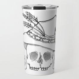 Witch Skull Travel Mug
