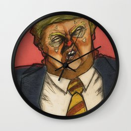 Clown number 17 (Lil' trUMpY) Wall Clock
