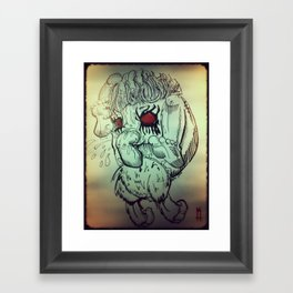 Feed Framed Art Print