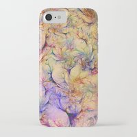 nudes iPhone & iPod Cases featuring Nudes in Flowers by Klara Acel