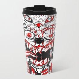 Demon Fluff Metal Travel Mug