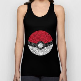 ONE BALL TO CATCH THEM ALL Unisex Tank Top
