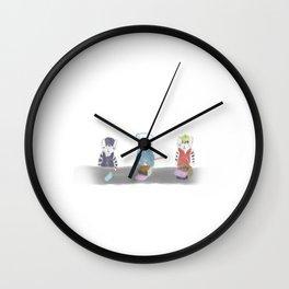 Three musketeers Wall Clock
