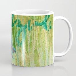 Azul Corriendo con una Memoria Coffee Mug