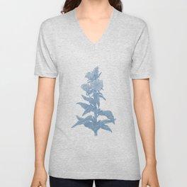 the herbarium blue Unisex V-Neck