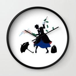 Mary Poppin Wall Clock