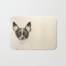 Chihuahua - the tiny dog Bath Mat