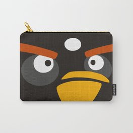 Angry birds Black Carry-All Pouch