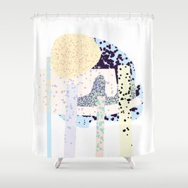 Tropical Iceland Shower Curtain