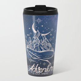 Adventure is Out There Metal Travel Mug