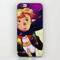 little prince iPhone & iPod Skins featuring Little Prince by Mei Linwau