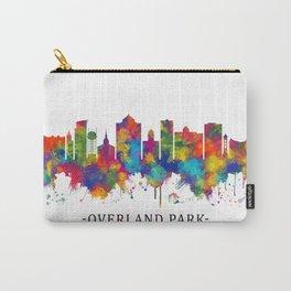 Overland Park Kansas Skyline Carry-All Pouch