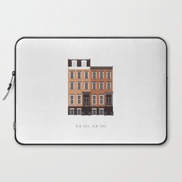 New York, NY Brownstone Laptop Sleeve