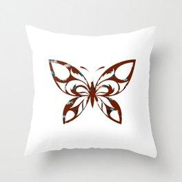 Butterfly 404 Throw Pillow