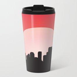 Urban Sunset Metal Travel Mug